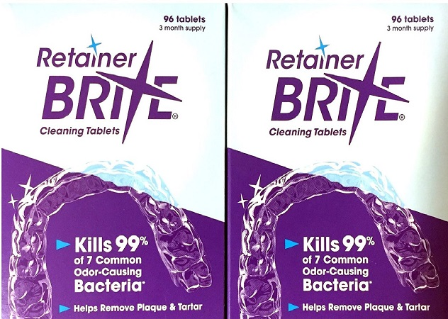 Retainer Brite- Cleaner for Invisalign and Retainers